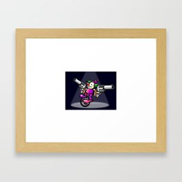 joke on this (augmented reality) Framed Art Print