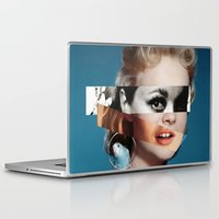 goddess Laptop & iPad Skins featuring Goddess by Alba Blázquez