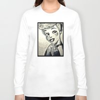 cinderella Long Sleeve T-shirts featuring Cinderella  by Makayla Wilkerson