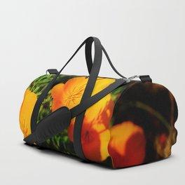 Golden Poppy Duffle Bag