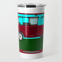 A Man and his Vintage Car Travel Mug