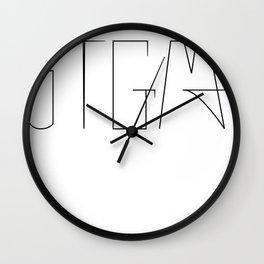STGMA Logo Wall Clock