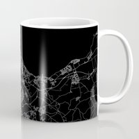 edinburgh Mugs featuring Edinburgh by Line Line Lines
