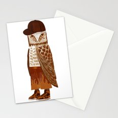 Hip Hop Owl Stationery Cards