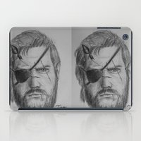 metal gear solid iPad Cases featuring Punished Venom Snake - Metal Gear Solid V: The Phantom Pain by TuncayVural