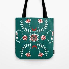 Botanic Esmerald Tote Bag