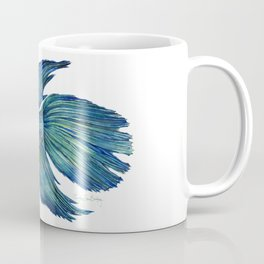 Mortimer the Betta Fish Coffee Mug