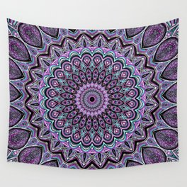 Blackberry Bliss - Mandala Art Wall Tapestry