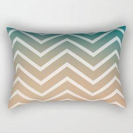 SUNSET STRIPES Rectangular Pillow