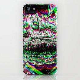 Exterme Grafiti from Madrid RGB iPhone Case