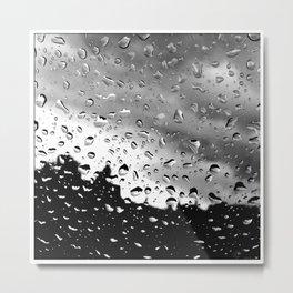Rainy Vision Metal Print