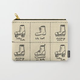 Sport shoes doodles Carry-All Pouch