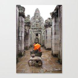 Buda in Angkor Canvas Print