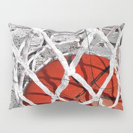 Basketball Art Pillow Sham