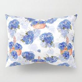 Cape Cod Hydrangeas and Baskets Pillow Sham
