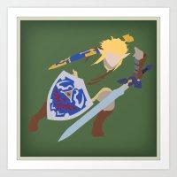 Link, He's BA (Legend of Zelda) Art Print
