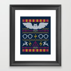 The Sweater That Lived Framed Art Print