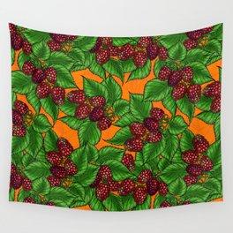 Raspberry Wall Tapestry