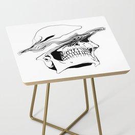 Skull #2 (Liquify) Side Table