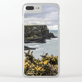 Travel to Ireland: Intro to Giant's Causeway Clear iPhone Case
