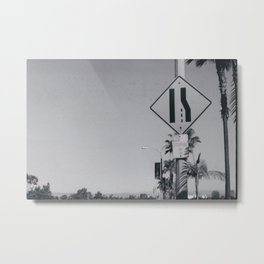 Los Angeles - No Stopping At Any Time Metal Print