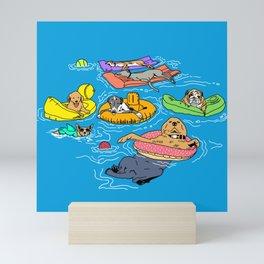 Water Dogs Mini Art Print