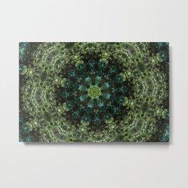 """Forest Guardians"" Mandala Metal Print"