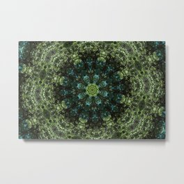 """Forest Guardians"" Mandala Metal Print"
