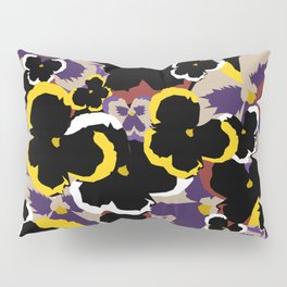 Pansy Love Pillow Sham