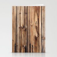 wood Stationery Cards featuring Wood by Patterns and Textures