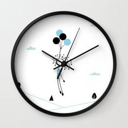 NenatreeBallon Wall Clock