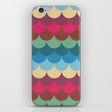 Colorful Mermaid Pattern iPhone & iPod Skin