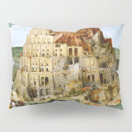 The Tower Of Babel Pillow Sham