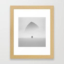 Silence #1 Framed Art Print