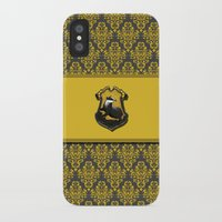 hufflepuff iPhone & iPod Cases featuring Hufflepuff House by Sarah and Bree