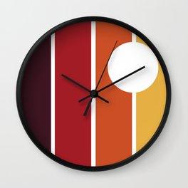 fabbrica di tramonti Wall Clock