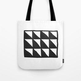 Tribal Print B&W- 01 Tote Bag