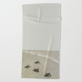The Journey Begins by Teresa Thompson Beach Towel