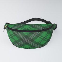 Scottish Plaid-Green Fanny Pack