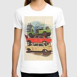 Junkyard Pier T-shirt