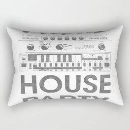 Acid house party 303 Rectangular Pillow