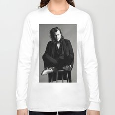Harry Styles Model Long Sleeve T-shirt