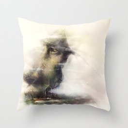 FADING MEMORIES Throw Pillow