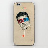 superheroes iPhone & iPod Skins featuring Superheroes SF by Blaine Fontana