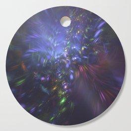 Blue Splash Cutting Board