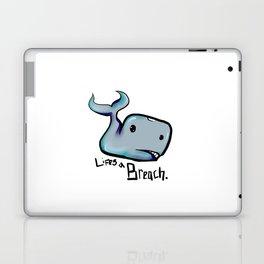 Lifes a Breach Laptop & iPad Skin