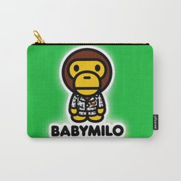 baby milo green Carry-All Pouch