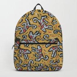 Spotty Dog by Nettwork2Design Nettie Heron-Middleton Backpack