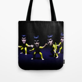 Kung Fu Fighter.  Tote Bag