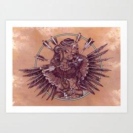 Harpy Art Print